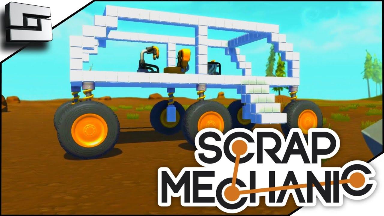 Scrap Mechanic - HOW TO BUILD A CAR! E2 (Gameplay) - YouTube