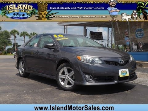 Toyota Merritt Island >> 2014 Toyota Camry 4dr Sdn I4 Auto Se Ltd Avail Merritt Island Florida