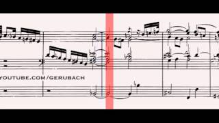 BWV 564 - Toccata, Adagio & Fugue in C Major (Scrolling)