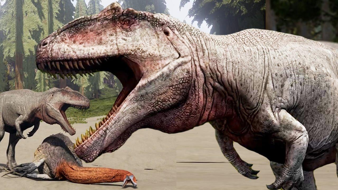 the isle giganotosaurus triple kill biggest giga pack
