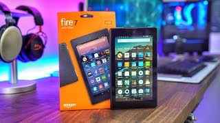 أرخص لوحي ممكن أنصح فيه | Amazon Fire 7