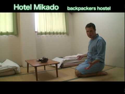 Hotel Mikado Backpackers Hostel Japan Osaka