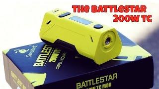 SMOANT BATTLESTAR 200W TC! Giveaway!