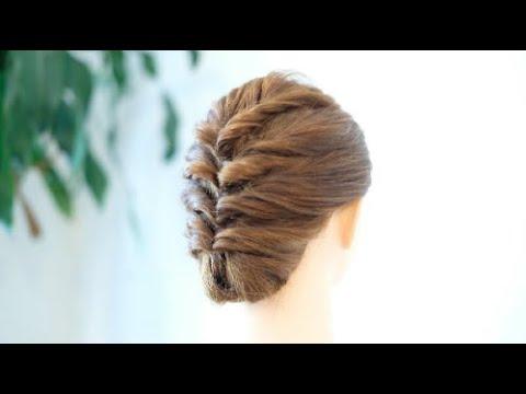 [簡単ヘアアレンジ]くるりんぱで簡単まとめ髪/EASY Updo Hairstyle/hair works &SOL thumbnail