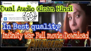 How to download Avengers Infinity war full movie in Hindi & English | Avengers Infinity war | 350mb