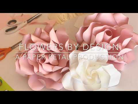 Tutorial How To Make Paper Flower Fast & Easy DIY Small Mini Rose