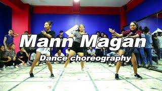 Man Magan - Deepak Bajracharya | The Nepholic Dance studio |Dance choreography
