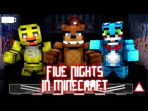 Five Nights in Minecraft: Remastered (2016)