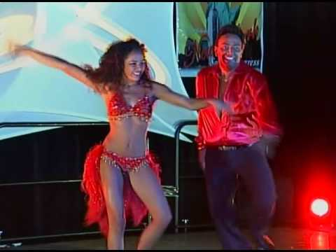 """Eddie Torres & """" Daughter Nadia Torres at N Y  Salsa Congress 2004"""