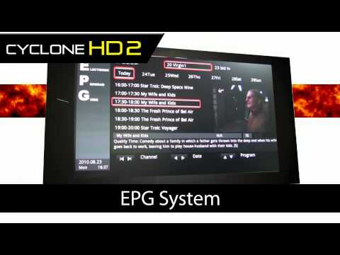 Cyclone HD 2 1080p Player and Freeview Recorder