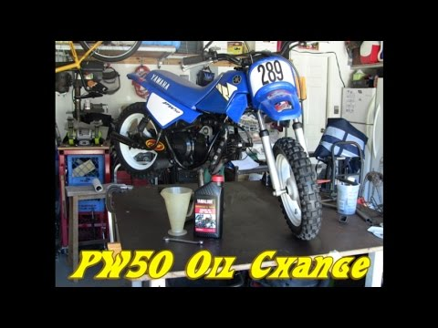 PW50 oil change