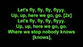 Far East Movement Rocketeer Lyrics on screen.mp3