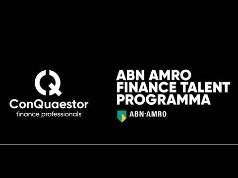 ABN AMRO Finance Talent Programma - ConQuaestor