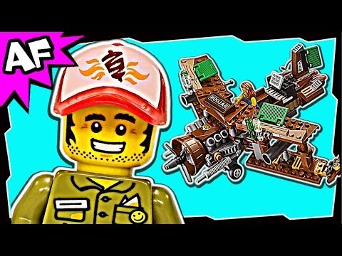 Lego Movie CREATIVE AMBUSH 70812 Stop Motion Build Review