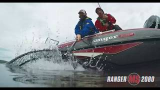 Ranger 2080MS Angler On Water Footage
