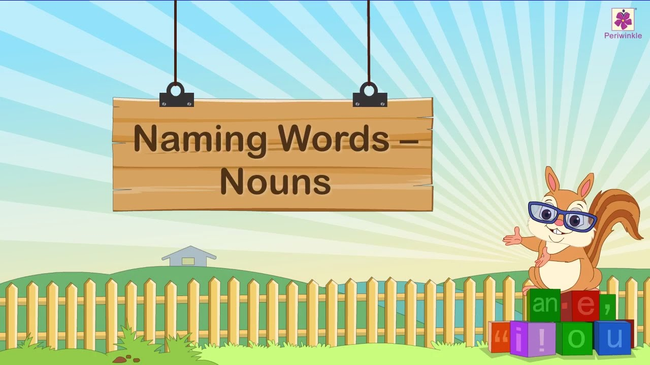 What Rhymes With Car >> Naming Word Nouns For Kids | Grammar Grade 1 | Nouns Part ...