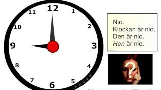 Klockan 1   introduktion