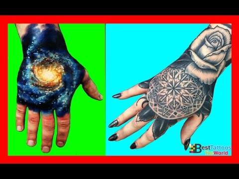 Hand Tattoos For Men & Women