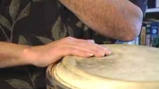 How to Play Conga Drums : Conga Drum Hand Positioning