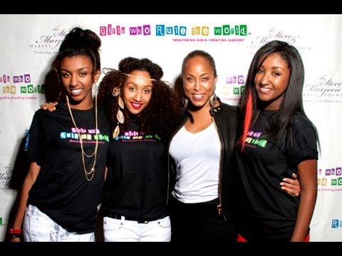 """Eriam Sisters Live at Steve & Marjorie Harvey Foundation """"Girls Who Rule The World"""""""