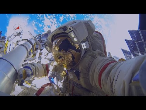 Russian space experiments on ISS (News report) (English subtitles)