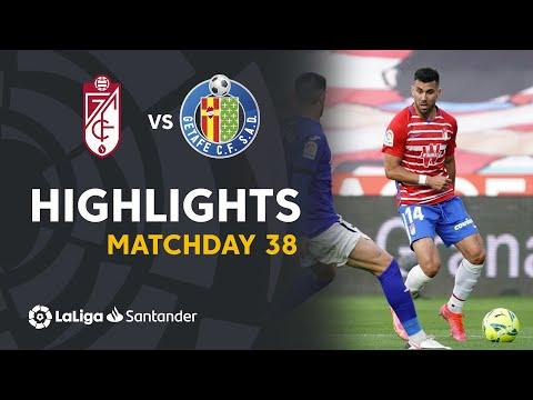 Granada Getafe Goals And Highlights