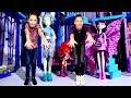 Видео для девочек #МонстерХай: 💅 #Лучшиеподружки Света и Полен делают МАНИКЮР к вечеринке!