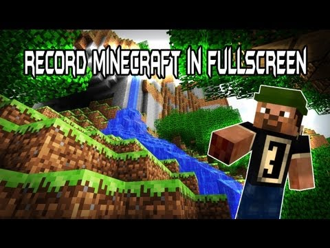 how to use obs to record minecraft 2016