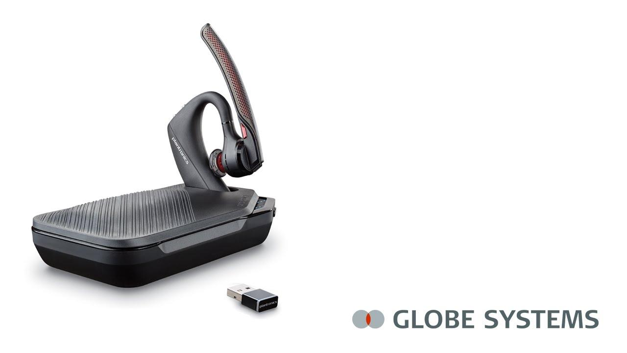 Plantronics Voyager 5200 Uc Bluetooth Headset Youtube