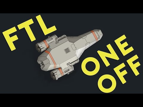 One Off - FTL Advanced Edition [Yeezy Nobu] Part 1(Spaceship Roguelike)