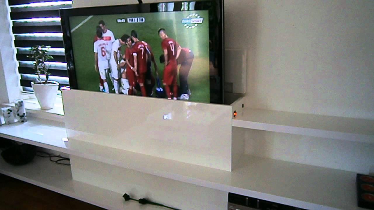 Tv Meubel Met Lift Slaapkamer