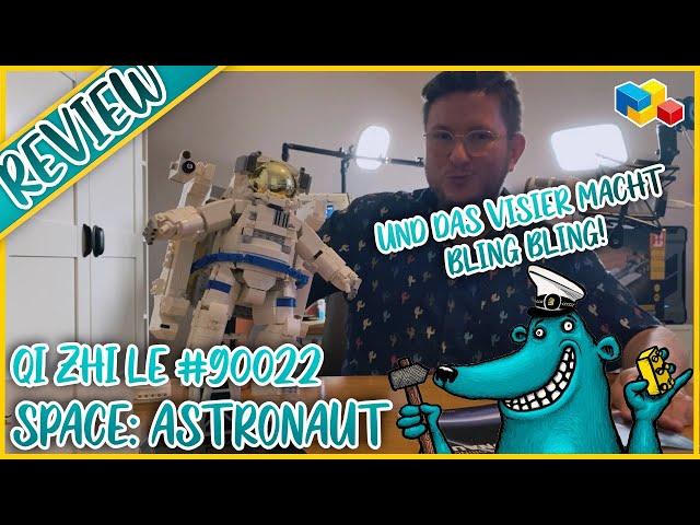 QiZhiLe Astronaut #90022: Tolles Visier, schön präsentiert, und sonst?