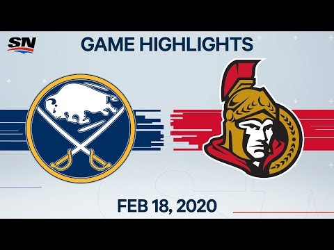 NHL Highlights | Sabres vs Senators – Feb. 18, 2020