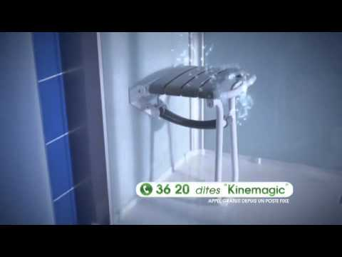 Cabine de douche kinemagic sur youtube for Cabine de douche kinemagic