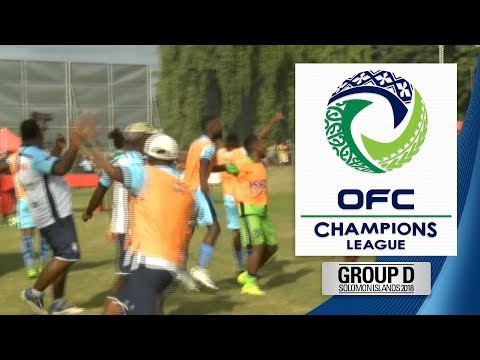 2018 OFC CHAMPIONS LEAGUE GROUP D | Marist FC V Team Wellington Highlight