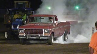 Central Illinois Truck Pullers - 2014 Tri-County Fair Pana, IL Truck Pulls