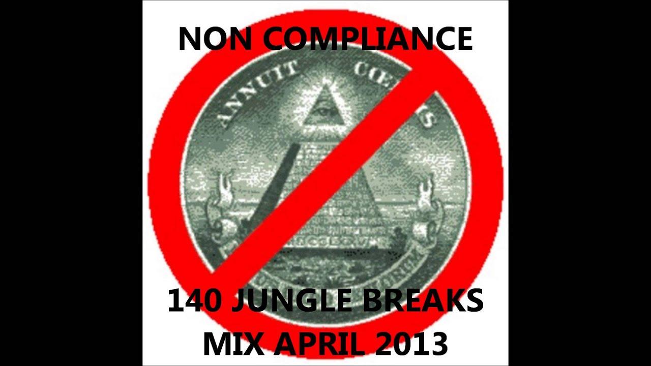 Non Compliance 140 Jungle Breaks Mix April 2013