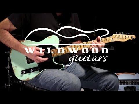 Fender Custom Shop Wildwood 10 1952 Telecaster  •  SN: R96058