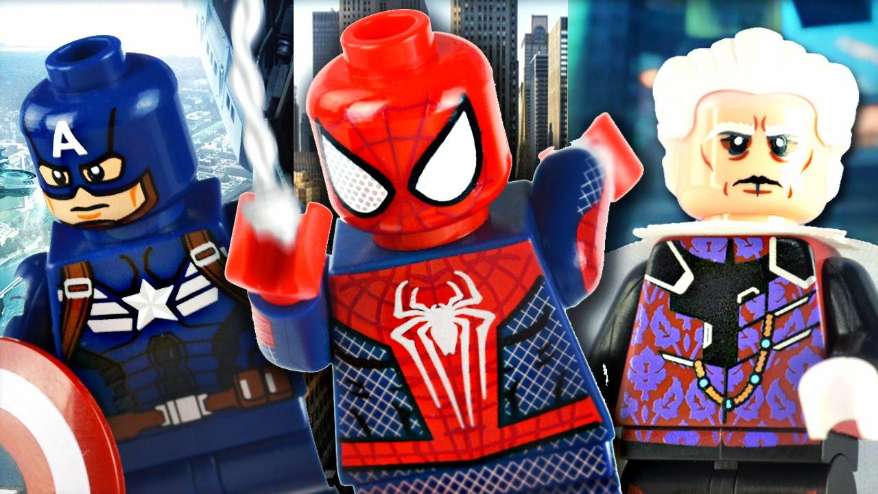 Lego Spiderman Malvorlagen Star Wars 1 Lego Spiderman: LEGO Marvel : Phoenix Customs Minifigures