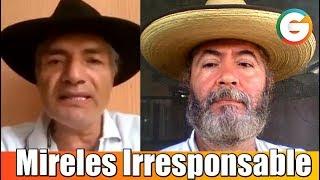 Los cuentos y la irresponsabilidad de Mireles : Jorge Vázquez