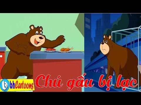 [Bố Đầu Nhỏ Con Đầu To] Chú Gấu Bị Lạc Và Cuộc Phiêu Lưu Đầy Thú Vị | Hoạt Hình Vui Nhộn
