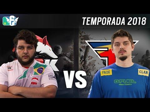 [BR6] BRK E-SPORTS vs FAZE CLAN (Temporada 2018) - Rainbow Six Siege