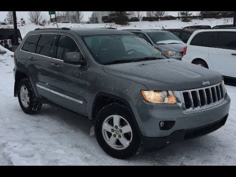 2013 Jeep Grand Cherokee Laredo 4x4 Mineral Grey Metallic Edmonton 18rc9410b Crosstown Dcjr Youtube