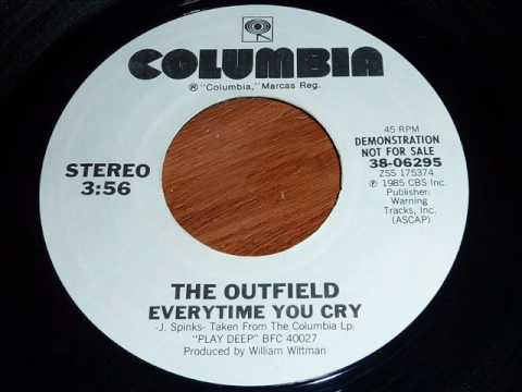The Outfield - Everytime You Cry 45rpm