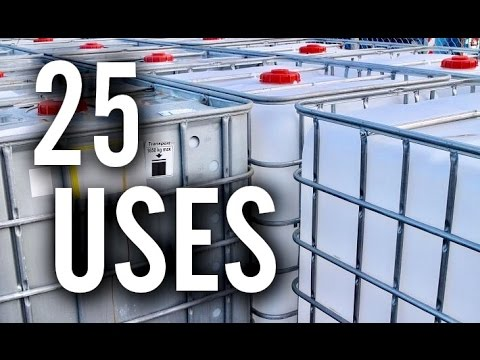 25 Amazing Uses For Ibc Totes Youtube