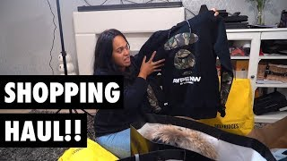 SHOPPING HAUL!! *SOMETHING FREAKY HAPPENS!!*