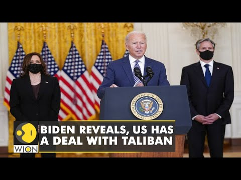 US President Joe Biden reveals, America has a deal with the Taliban   Secret Deal   Afghanistan