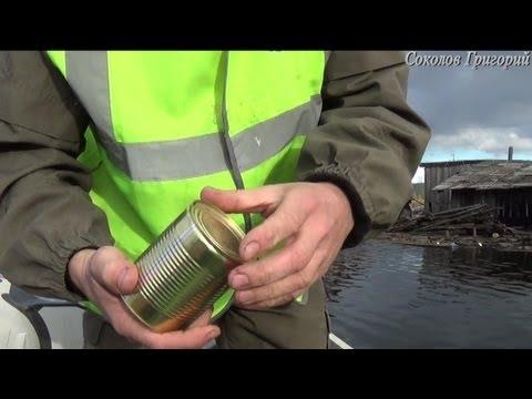 Как открыть высокую консервную банку голыми руками