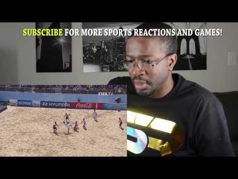 TOP 10 GOALS - FIFA Beach Soccer World Cup Portugal 2015 REACTION