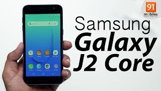 Samsung Galaxy J2 Core: Unboxing | Hand on | Price [Hindi हिन्दी]